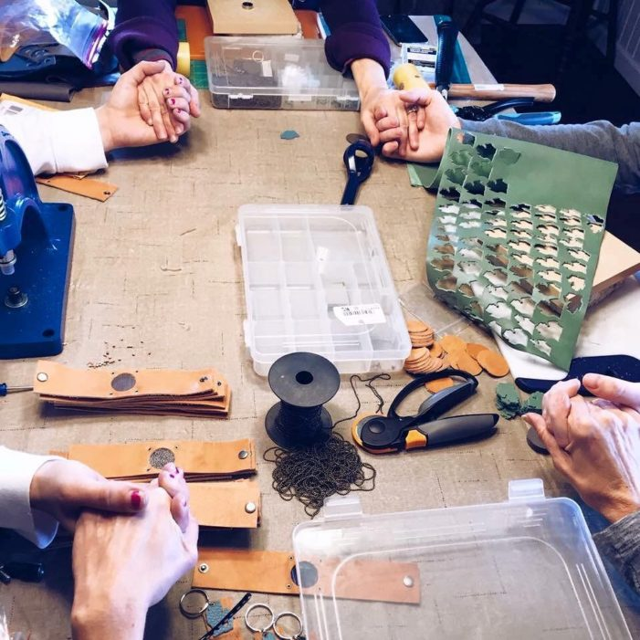 Mend on the Move helps abused women reclaim their lives by making jewelry from old  auto parts