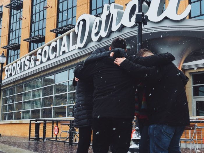 Sports & Social Detroit hosts 'Coats and Soaps' drive to help homeless in Detroit this winter
