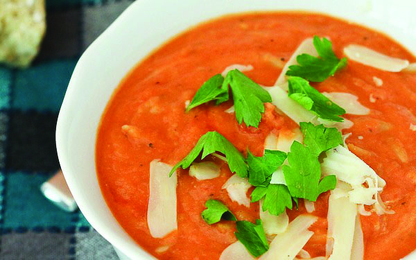 Soup's On! A hearty bowl does a body good especially when dairy's involved