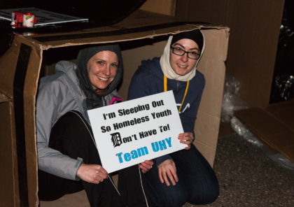 Detroit's young professionals to sleep out to help end homelessness