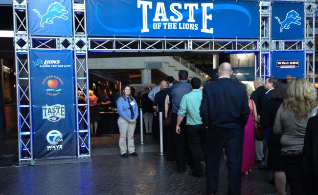 Detroit Lions to host sixth annual Taste of the Lions at Ford Field May 16