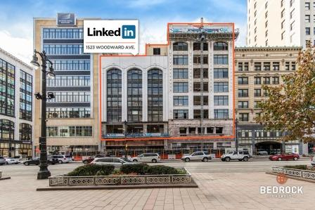 LinkedIn to move into historic Sanders building on Woodward
