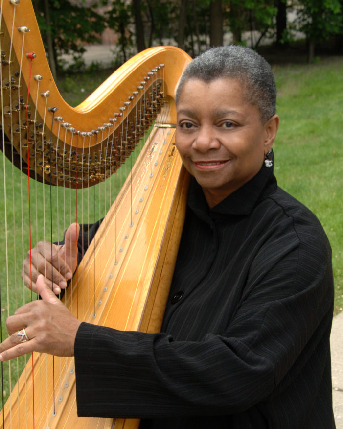 Heavenly harp music leads a classical trio in Palmer Woods concert on Sunday, April 29