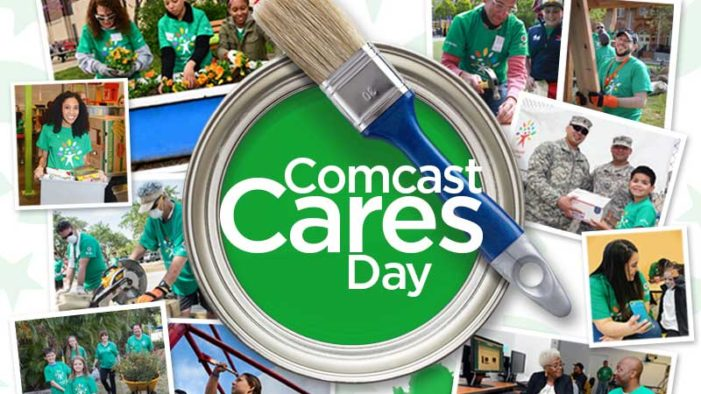 Detroit and Flint volunteers are invited to help Comcast show it cares April 21