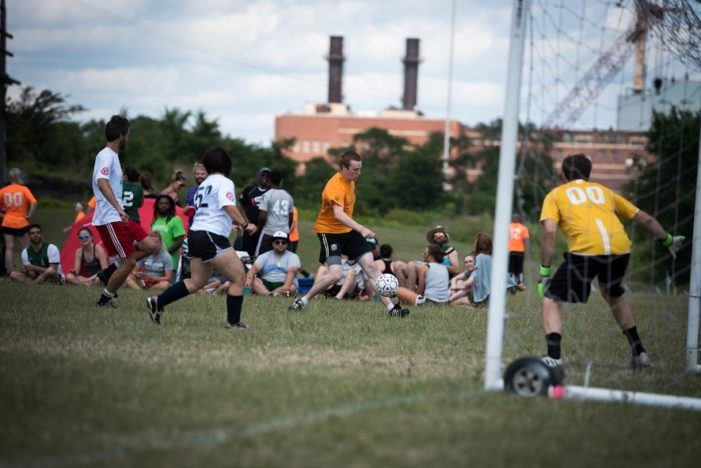 Soccer league celebrates 'uniquely Detroit' coupling of sports and community development