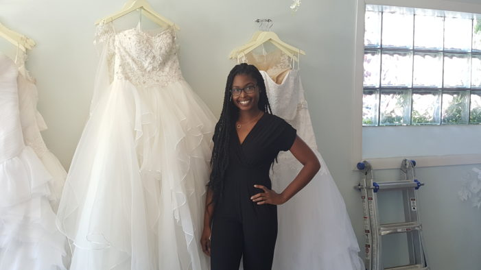 Young Detroit bridal shop owner helps wedding dreams come true