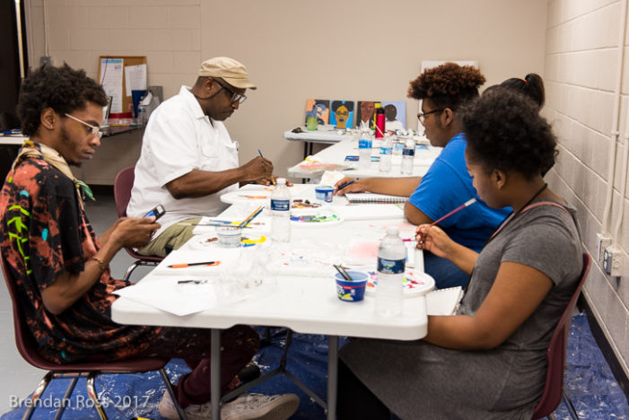 Mint Artists Guild hires talented teens to create art for Detroit parks