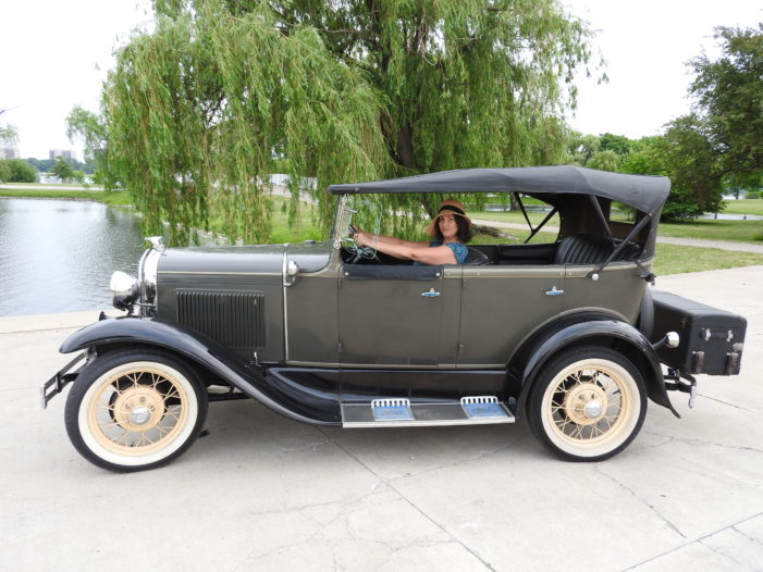 Antique Touring launches Detroit sightseeing tours in Ford Model A