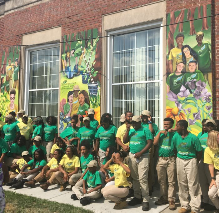 Green Corps celebrates 20 years of employing Detroit youth