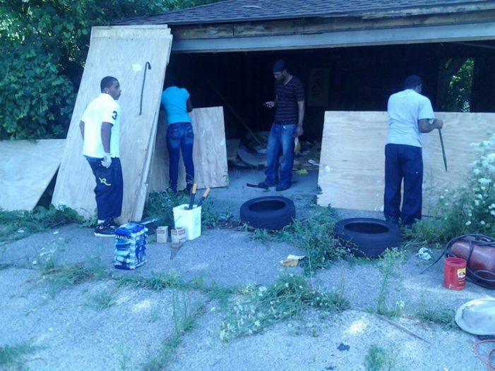 Organization uses manpower to make renters and homeless into homeowners