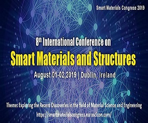"""8th International Conference on """" Smart Materials and Structures"""""""