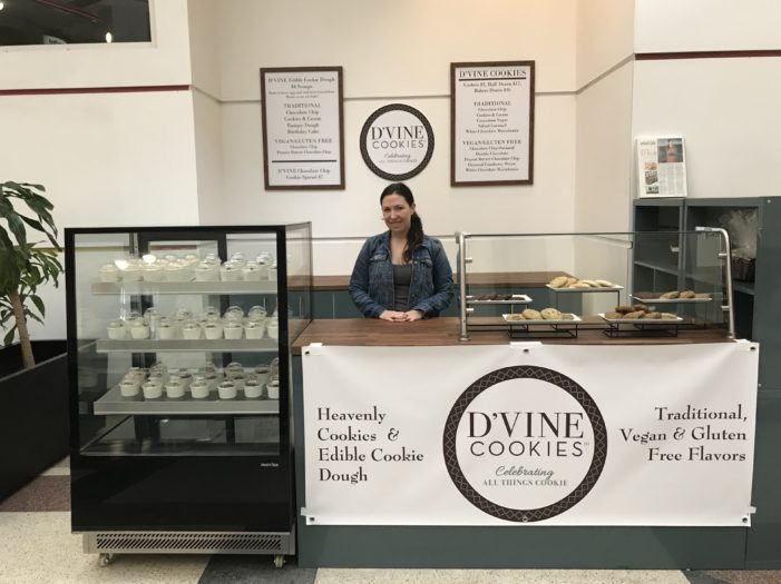 D'Vine Cookies & Dough celebrates New Center store opening with free samples Sept. 17