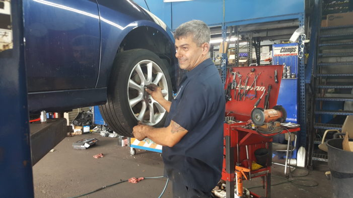 East side auto shop symbolizes Lebanese immigrant's dream career