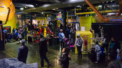 Free General Admission at the Michigan Science Center