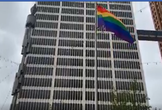 Detroit raises rainbow flag in Spirit Plaza to honor LGBTQ Pride Month