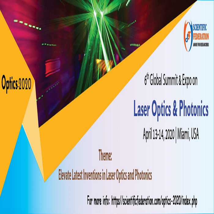 6th Global Summit & Expo on Laser Optics and Photonics