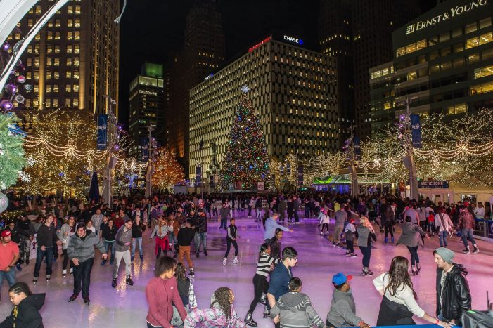 The Rink at Campus Martius opens for preview weekend Nov. 15-17, free for first 100 Nov. 15