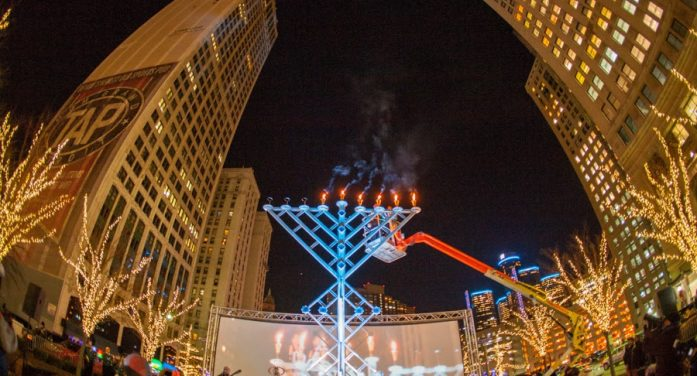 Annual Menorah in the D celebration to be held December 22 in Campus Martius Park