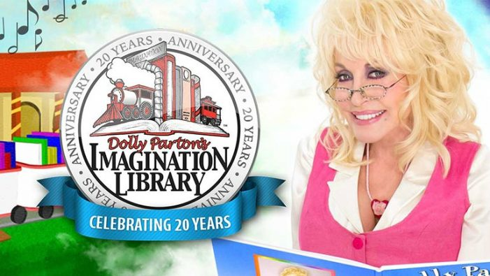 Free children's books from Dolly Parton Imagination Library coming to Midtown
