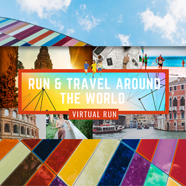 Travel & Virtual Run Around the World 2020