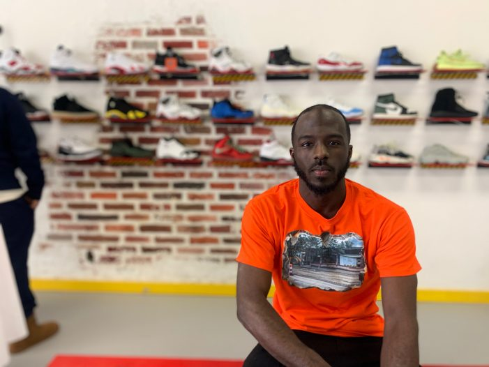 Entrepreneur finds just the right fit for vintage shoe store in Detroit
