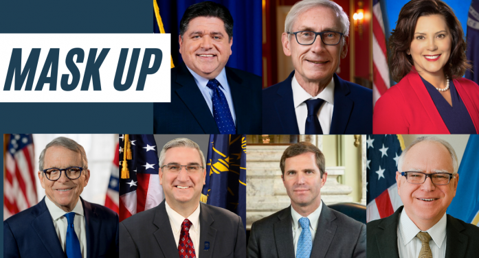 Whitmer joins group of bipartisan governors to urge everyone to mask up, stay safe for the holidays