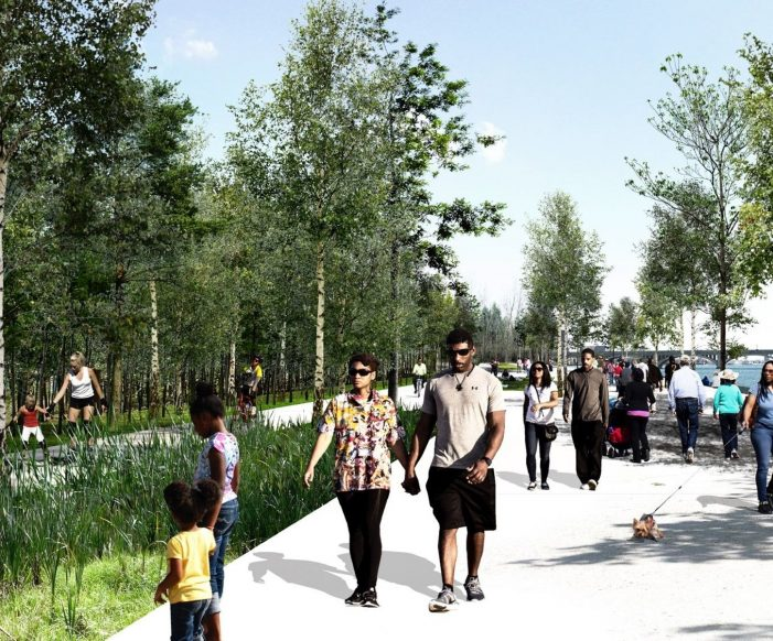 $11 million investment will extend Riverwalk to Belle Isle by fall 2022