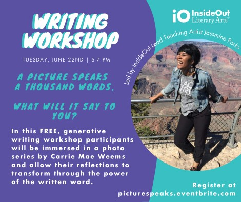 A picture speaks a thousand words. What will it say to you?: A community writing workshop